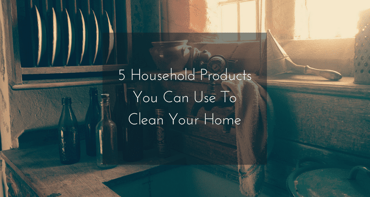5 Household products you can use to clean