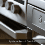 Appliance Record- Download